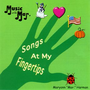 9780792555780: Songs at my Fingertips CD by Music with Mar
