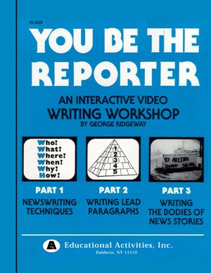 9780792556459: You Be The Reporter! (Live Action DVD, 17 Reproducible Worksheets & Masters, and Teacher's Guide)
