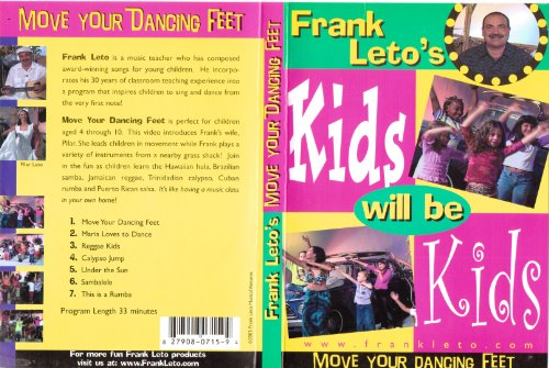 9780792556787: Kids Will Be Kids: Move Your Dancin' Feet DVD by Frank Leto