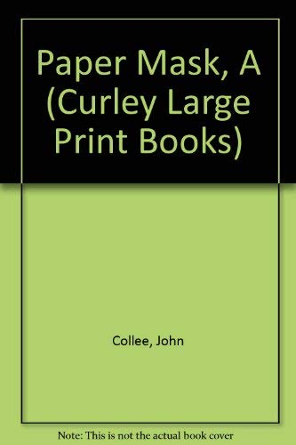 9780792700883: Paper Mask, A (Curley Large Print Books)