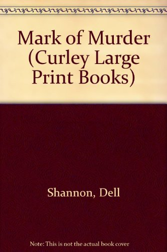 9780792701477: Mark of Murder (Curley Large Print Books)