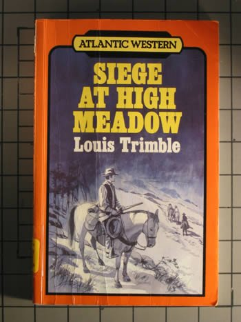 9780792709244: Siege at High Meadow (Atlantic large print)