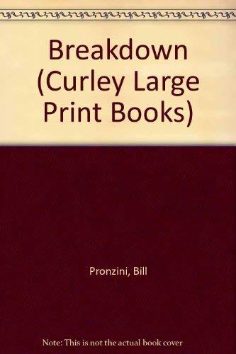 9780792710509: Breakdown (Curley Large Print Books)
