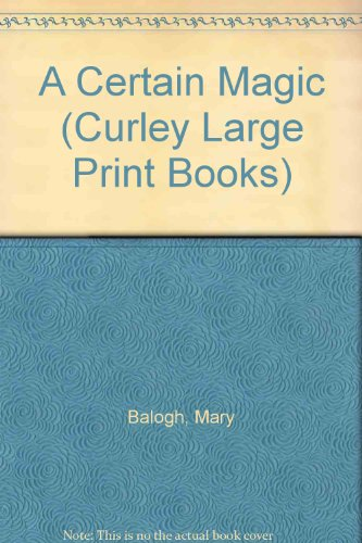 9780792711858: A Certain Magic (Curley Large Print Books)