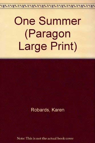 9780792716082: One Summer (Paragon Large Print)