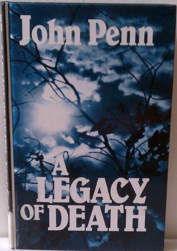 9780792716327: A Legacy of Death/Large Print