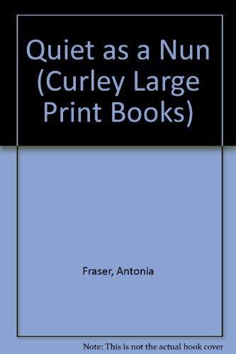 9780792716891: Quiet As a Nun/Large Print