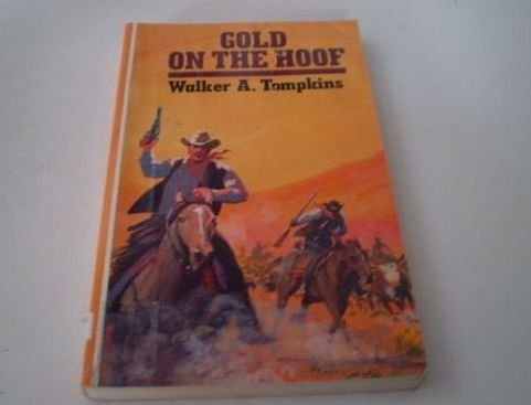 Gold on the Hoof (Curley Large Print: Tompkins, Walker A.