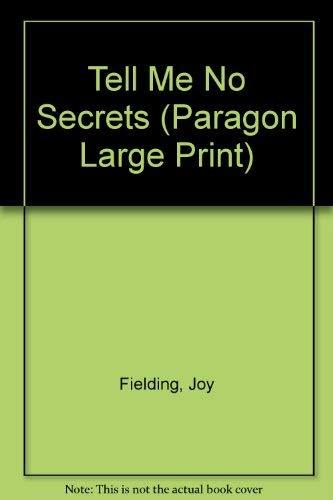 9780792718956: Tell Me No Secrets (Paragon Large Print)