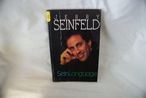 Seinlanguage (Curley Large Print Books) (9780792719120) by Jerry Seinfeld