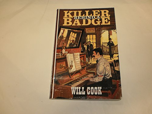 9780792720355: Killer Behind a Badge (Curley Large Print Books)