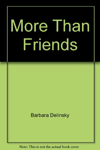 9780792720546: More Than Friends