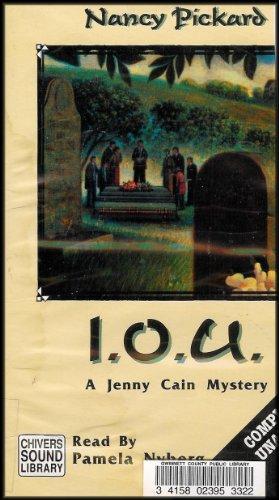 9780792722250: I.O.U: A Jenny Cain Mystery (Jenny Cain Series)