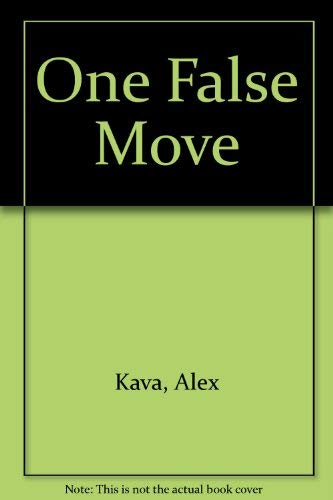One False Move (0792733037) by Alex Kava