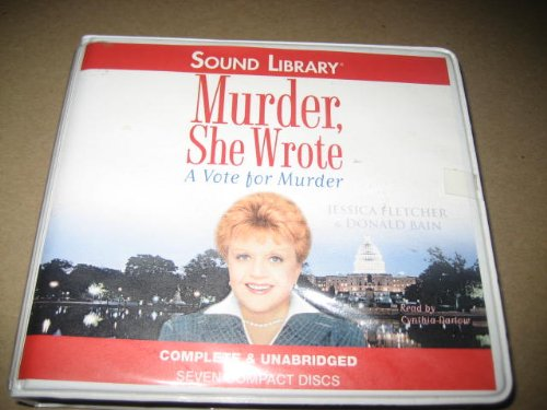 9780792733324: A Vote for Murder (Murder, She Wrote)