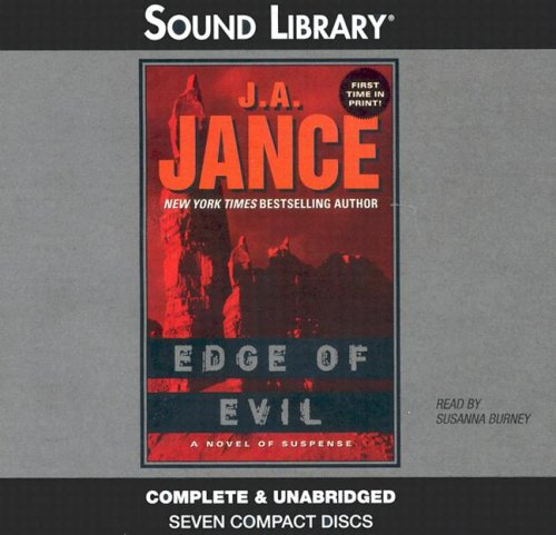Edge of Evil (Ali Reynolds Mysteries): J A Jance