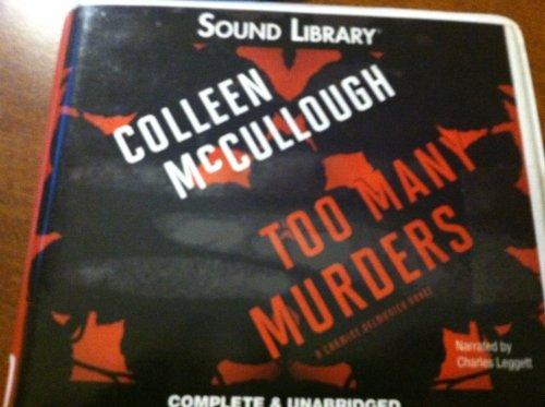9780792770084: Too Many Murders (Carmine Delmonico Novels)