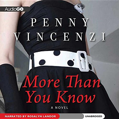 More Than You Know - A Novel: Penny Vincenzi
