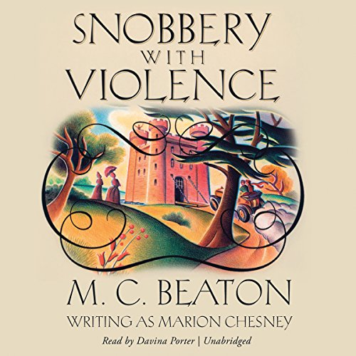 Snobbery with Violence (Edwardian Murder Mysteries, Book 1)(LIBRARY EDITION) (Edwardian Murder ...