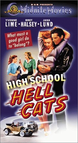 9780792843931: High School Hellcats [VHS]