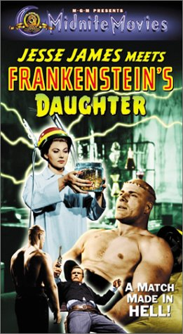 9780792844075: Jesse James Meets Frankenstein's Daug [VHS]