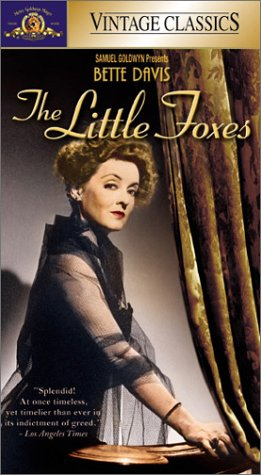 9780792845898: The Little Foxes [VHS]