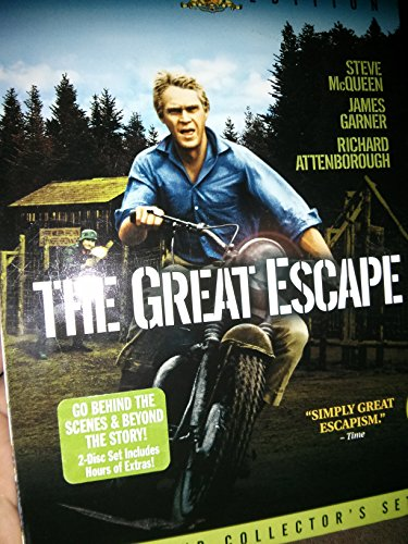 The great escape by steve mcqueen and charles bronson mgm for The great escape house