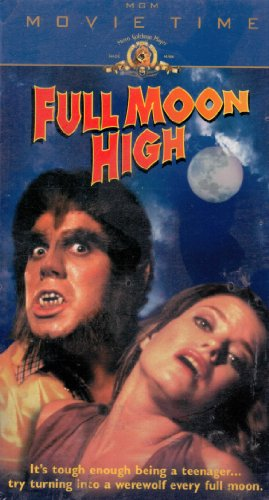 9780792899112: Full Moon High [VHS]
