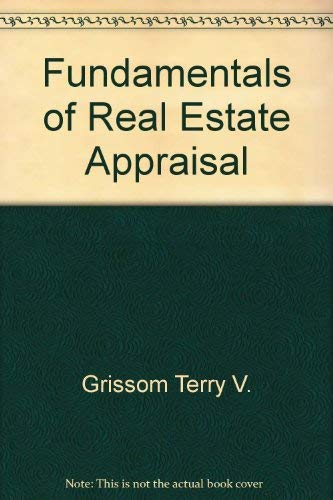 9780793100125: Fundamentals of real estate appraisal