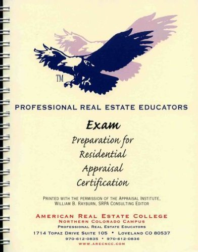 9780793101122: Exam Preparation for Residential Appraiser Certification