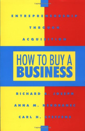 9780793104505: How To Buy a Business