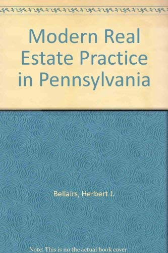 9780793104802: Modern Real Estate Practice in Pennsylvania
