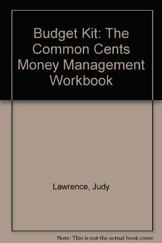 9780793104956: The Budget Kit: The Common Cent$ Money Management Workbook