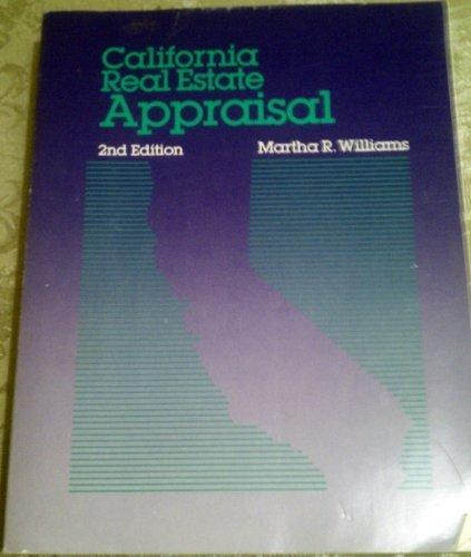 9780793105809: California Real Estate Appraisal