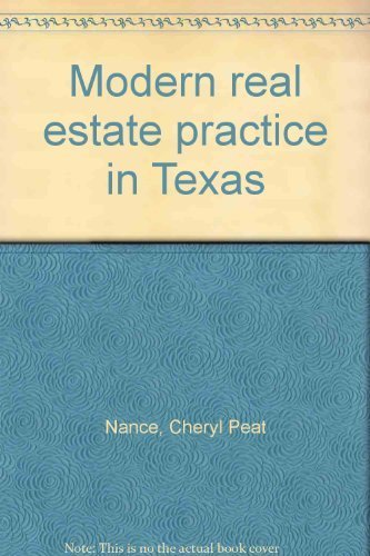 9780793106219: Modern real estate practice in Texas