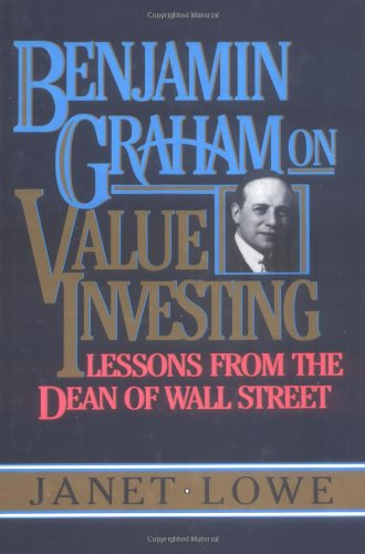 9780793107025: Benjamin Graham on Value Investing: Lessons from the Dean of Wall Street