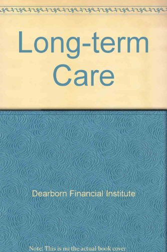 Long-Term Care: Goetze, Jason G.