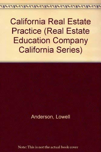 9780793107308: California Real Estate Practice (Real Estate Education Company California Series)