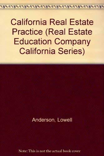 9780793107308: California Real Estate Practice (Real Estate