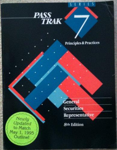 General Securities Representative - 8th Edition: Walker-Daniels, Kimberly K.