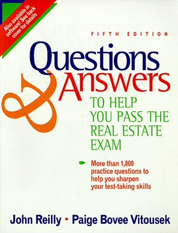 9780793115051: Questions & Answers to Help You Pass the Real