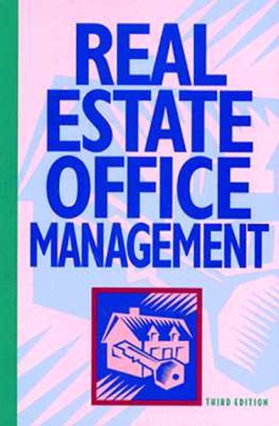 Stock image for Real Estate Office Management for sale by Bayside Books