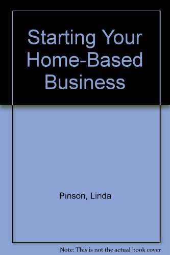 Starting Your Home-Based Business (0793116937) by Linda Pinson; Jerry Jinnett