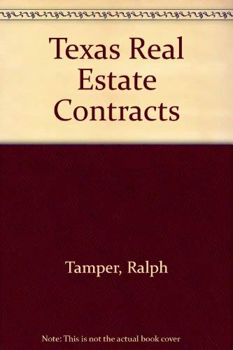9780793117635: Texas Real Estate Contracts