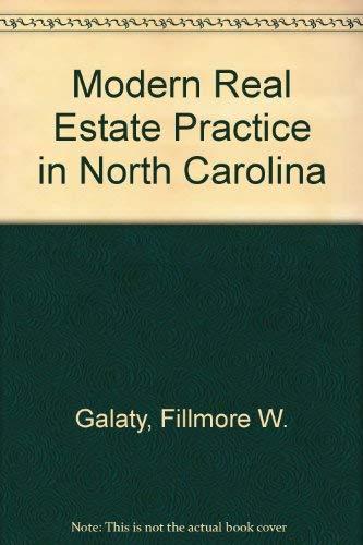 9780793121892: Modern Real Estate Practice in North Carolina