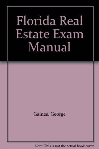 9780793122646: Florida Real Estate Exam Manual