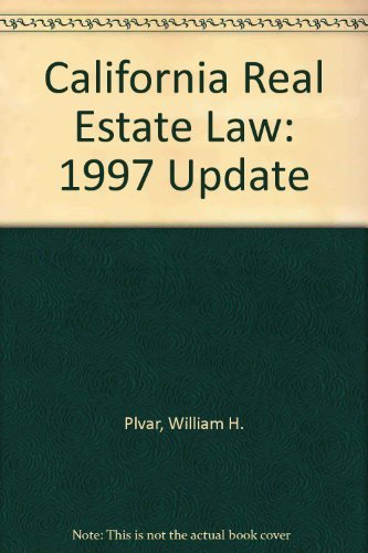 9780793124954: California Real Estate Law