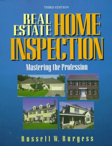9780793129133: Real Estate Home Inspection: Mastering the Profession