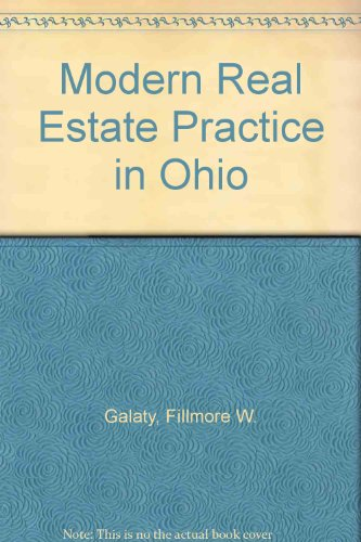 9780793132195: Modern Real Estate Practice in Ohio