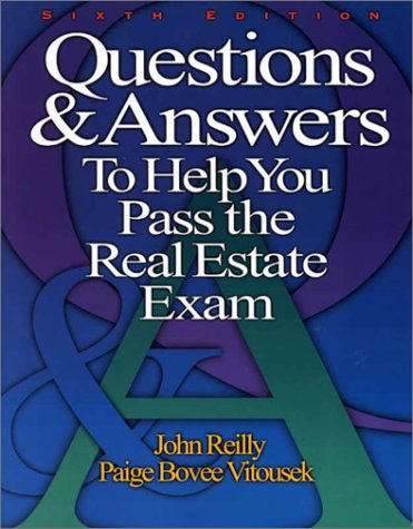 9780793135820: Questions & Answers to Help You Pass the Real Estate Exam